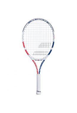 Теннисная ракетка детская 5-7 лет Babolat DRIVE JUNIOR 24 GIRL