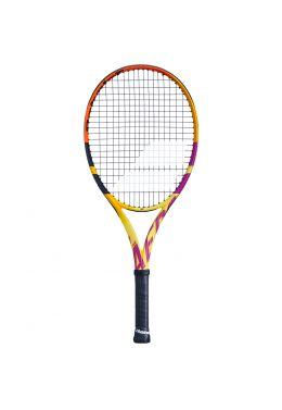 Теннисная ракетка детская профессиональная Babolat PURE AERO JR 26 RAFA FC