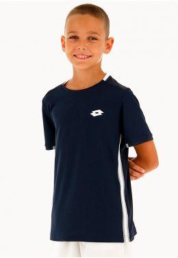 Футболка для тенниса детская Lotto SQUADRA B TEE PL