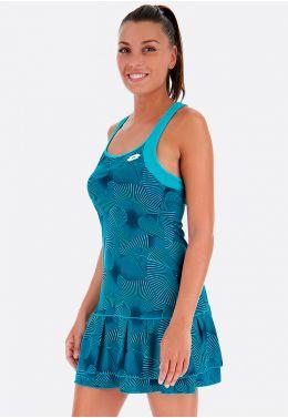 Теннисное платье женское Lotto TENNIS TECH DRESS PRT PL W