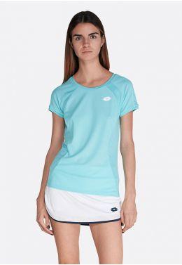 Футболка для тенниса женская Lotto SQUADRA W TEE PL