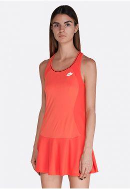 Теннисное платье женское Lotto SQUADRA W DRESS PL