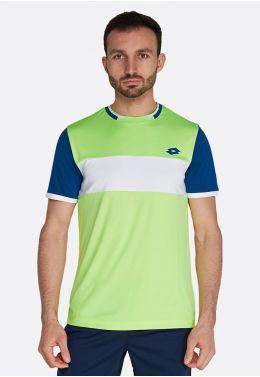 Футболка для тенниса мужская Lotto TOP TEN II TEE BCK PL