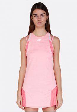 Теннисное платье женское Lotto TOP TEN W II DRESS PL