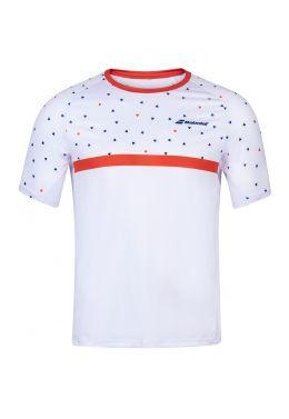 Футболка для тенниса мужская Babolat COMPETE CREW NECK TEE MEN