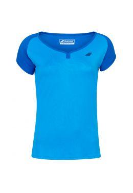 Футболка для тенниса женская Babolat PLAY CAP SLEEVE TOP WOMEN