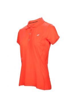 Тенниска для тенниса женская Babolat CORE CLUB POLO WOMEN