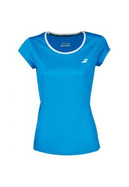 Футболка для тенниса женская Babolat CORE FLAG CLUB TEE WOMEN