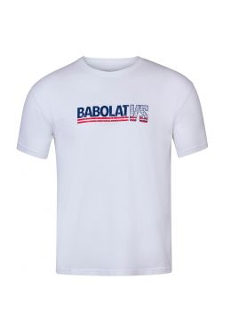 Футболка для тенниса мужская Babolat EXERCISE VINTAGE TEE MEN