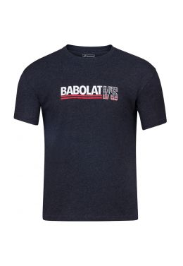 Футболка для тенниса мужская Babolat EXERCISE VINTAGE TEE MEN
