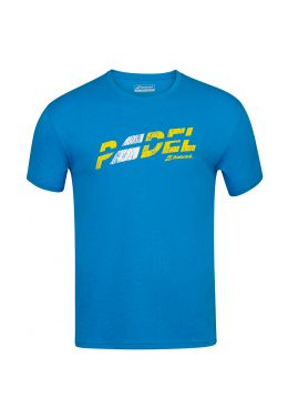 Футболка для тенниса мужская Babolat EXERCISE FLAG MSG TEE MEN