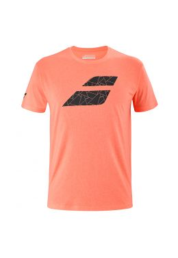 Футболка для тенниса мужская Babolat EXERCISE BIG FLAG TEE MEN