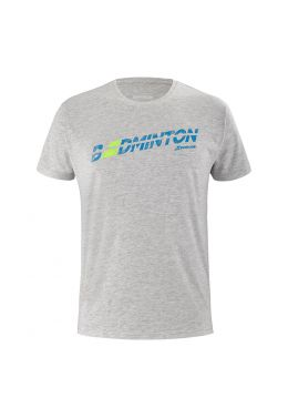 Футболка для тенниса мужская Babolat EXERCISE MESSAGE TEE MEN
