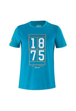 Футболка для тенниса мужская Babolat EXERCISE GRAPHIC TEE MEN