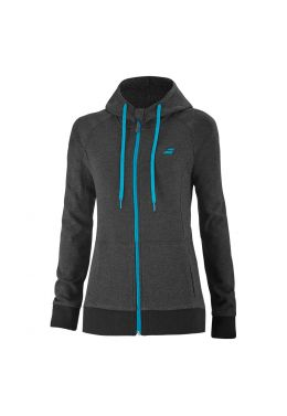 Худи женская Babolat EXERCISE HOOD JACKET WOMEN
