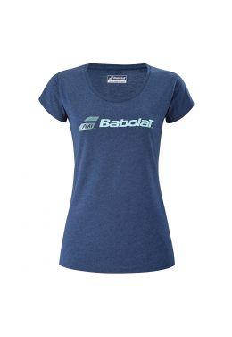 Футболка для тенниса женская Babolat EXERCISE GLITTER TEE WOMEN