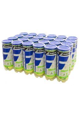 Мячи теннисные Babolat GREEN X3 (Ящик 24 банки)