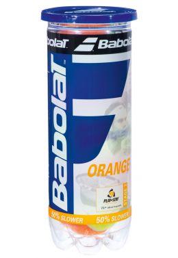 Мячи теннисные Babolat ORANGE X3 (Банка ,3 штуки)