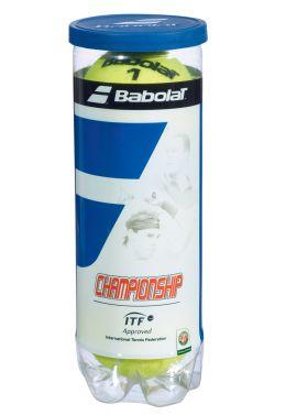 Мячи теннисные Babolat CHAMPIONSHIP X3 (Банка ,3 штуки)