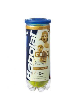 Мячи теннисные Babolat GOLD X3 (Банка ,3 штуки)