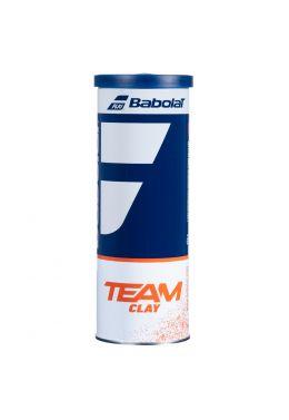 Мячи теннисные Babolat TEAM CLAY X3 (Банка,3 штуки)