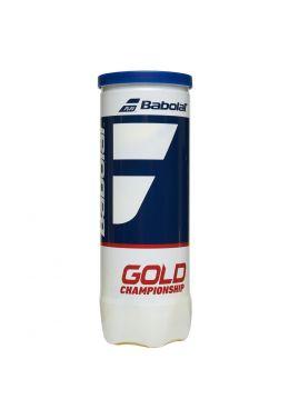 Мячи теннисные Babolat GOLD CHAMPIONSHIP X3 (Банка,3 штуки)