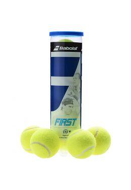 Мячи теннисные Babolat FIRST X4 (Банка ,4)