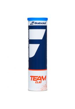 Мячи теннисные Babolat TEAM CLAY X4 (Банка,4)
