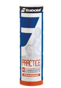 Воланы Babolat NYLON SHUTTLE PRACTICE (Упаковка,6 штук)