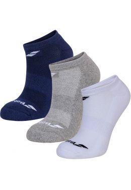 Носки спортивные детские Babolat INVISIBLE 3 PAIRS PACK JUNIOR (Упаковка,3 пары)