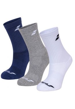 Носки спортивные Babolat 3 PAIRS PACK SOCKS (Упаковка,3 пары)