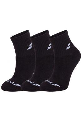 Носки спортивные Babolat QUARTER 3 PAIRS PACK (Упаковка,3 пары)