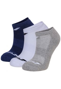 Носки спортивные Babolat INVISIBLE 3 PAIRS PACK (Упаковка,3 пары)