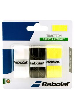 Намотка на ракетку Babolat TRACTION X3 (Упаковка,3 штуки)