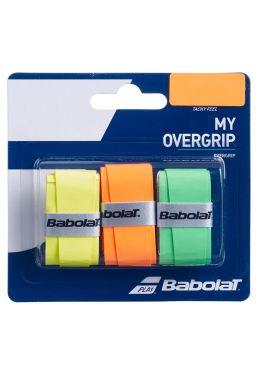 Намотка на ракетку Babolat MY OVERGRIP X3 (Упаковка,3 штуки)